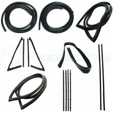 67-70 Chevy C10 Truck Complete Kit Door Gaskets, Vent Seals, Glass Weatherstrip