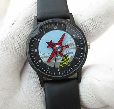 "AIR RACE CHAMPIONSHIPS ""Animated Plane Dial"" MINT,MENS KIDS WATCH,1180"