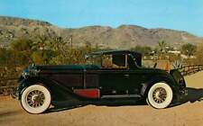 Postcard 1929 Isotta Fraschini 8-A Convertible Coupe - Barrett Collection