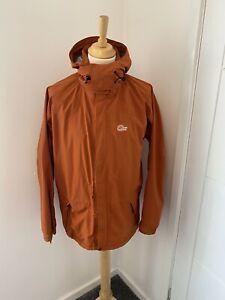 Lowe Alpine Gore-Tex GTX Goretex Orange Hooded Raincoat Coat Jacket Medium M