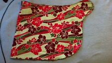 DeLa Mer reds and greens Sarong/beach wrap/skirt with tags