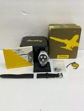 Breitling Colt Chrono Ocean Chronograph A53050 Quartz + Extra Band,Papers & Box