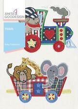Baby Train Anita Goodesign Embroidery Machine Cd New