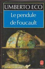 Umberto Eco - Le pendule de Foucault - Vermeer en couverture