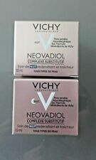 VICHY NEOVADIOL COMPLEXE SUBSTITUTIF soin de nuit redensifiant 2x15 ml   NEUF !!