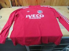 Vintage Shirt Football Soccer Jersey – Adidas Iveco Magirus Bayern Munich 1980s