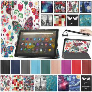 Hülle für Amazon Fire HD 10 2021 (11. Gen) Tablet Smart Cover Case Schutzhülle
