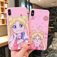 Cute Sailor Moon Soft Phone Case Cover For iPhone 11 Pro Max 6s 7 8 Plus SE 2020
