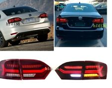 For Volkswagen VW Jetta Led Tail Lights MK6 2011-2014Rear Lamp  Sequential 4pcs