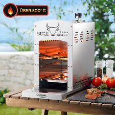 Bull Burner 800°C Grad Hochleistungsgrill Oberhitze Gasgrill Edelstahl Steak