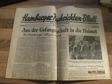 Hamburger Nachrichten-Blatt der Militärregierung #42 vom 3. Juli 1945 Besatzung