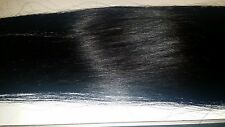 Colour 1 -  Full Head 40pieces Tape Hair Extension - 20inches -5A Quality