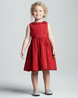 Jason Wu Neiman Marcus Baby Toddler Girl Holiday Occasion Lace Trim Red Dress$80