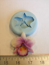 ORCHID FLOWER SILICONE MOLD #66 WEDDING,CHOCOLATE,FONDANT, GUMPASTE, GUMMY