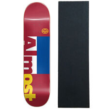 "Almost Skateboard Deck Ivy League Imapact Dilo 8.5"" x 32.3"" with Grip"