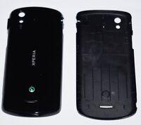 Original Sony Ericsson Xperia Pro MK16i Akkudeckel, Battery Cover, Schwarz black