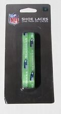 """Seattle Seahawks Team Logo Colors 54"""" Shoe Laces One Pair Lace Ups NWT"""