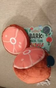 WHAM BAM HAM DOG TOY - Bark Deck The Howls (2 Toy Set) Squeaker/Crinkler NEW