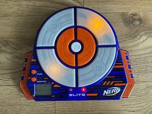 Nerf N-Strike Elite Blue Digital Target Light Up Toy Shooting Practice