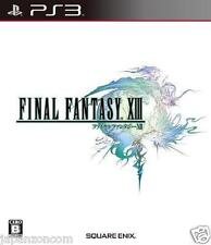 Used PS3 FINAL FANTASY XIII 13 FF SONY PLAYSTATION 3 JAPAN JAPANESE IMPORT
