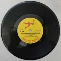 I've Been Working on the Railroad & Witch Doctor Childrens Vinyl Record 78RPM