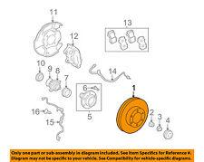 TOYOTA OEM 05-16 Tacoma Front Brake-Disc Rotor 4351204052
