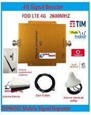 RIPETITORE AMPLIFICATORE 4G LTE SEGNALE GSM UMTS ANTENNA TIM WIND VODAFONE 3 TRE