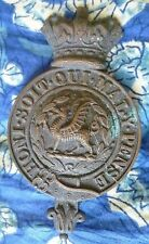 Badge-VICTORIAN British Army Military Helmet Badge,Honi soit qui maly pense- ORG