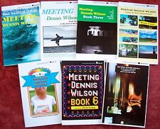 """MEETING DENNIS WILSON """"boxless boxed set"""" - SIGNED 7 book serialized YA novel"""