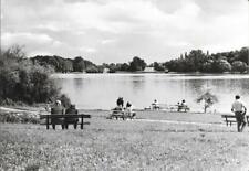AK Flecken Zechlin 1976 - Schwarzer See