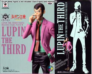 Lupin The Third Part 5 Master Stars Piece IV Arsene Lupin III Figure Banpresto