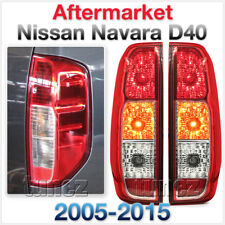Replacement Set Pair Rear Tail Lights For Nissan Navara D40 2005-2015 RX ST ST-X