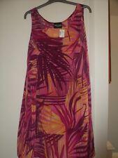 NUOVO Abito Donna Elegante, AWESOME Wear, Made in USA, JCPenny, 1X, P2P 60 cm