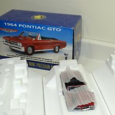 Franklin Mint 1964 Pontiac GTO Convertible, 1:24 Scale Die Cast Car in Box Red
