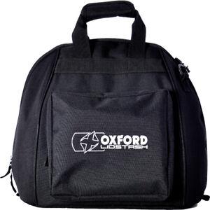 Oxford OL260 Motorcycle Motorbike Black Full Faced Helmet Lidstash Bag   New
