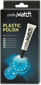 Polywatch Watch Polish Tube & Cloth Kit for Removing Acrylic Crystal Scratches