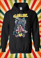 Gorillaz Band Hip Hop Rock Music Men Women Unisex Top Hoodie Sweatshirt 1882