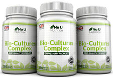 Probiotics 540 Capsules 10 Billion Forming CFU's yeast infections leaky gut Nu U