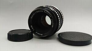 Zebra Meyer Optik Gorlitz ORESTON Prime Sharp 1.8/50mm Lens M42 Camera with CAPS