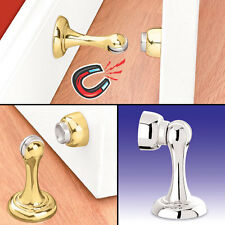Magnetic Door Stop And Holder Bright Brass
