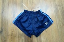 Vintage 80's Adidas Shiny Nylon Shorts Glanz West Germany Size XS D4 (N377)