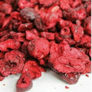 Freeze Dried CHERRIES Sliced - Free UK P&P - SpiceHaven