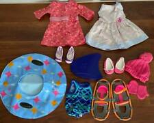 AMERICAN GIRL DOLL CHRISSA'S MEET OUTFIT,SUNDRESS,SNOWSHOE'S,SWIMSUIT+MORE