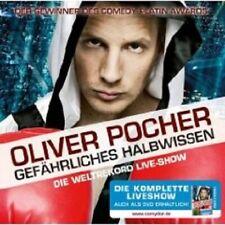 """OLIVER POCHER """"GEFÄHRLICHES HALBWISSEN"""" 2 CD NEW"""