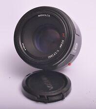 Minolta 50mm F/1.7 AF FOCALE FISSA Sony DSLR-A99 Alpha A77 A68 A58 A57 A33 A350