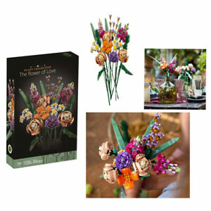 compatible New Lego Botanical Collection Creator Expert Flower Bouquet 10280