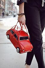 Kate Spade Rose-Colored Glasses Red Car Clutch BNWT SOO CUTE!