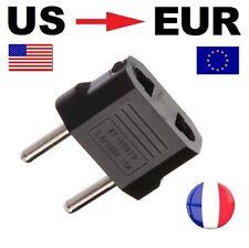 Adaptateur Secteur US Chine Vers Prise éléctrique EU France Europe voyage USA