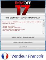 Logiciel EDC17 cheksum & Immo Off EDC17 software off