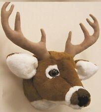 Deer Head Stuffed Tailed SAH Plush Figures 11 Wall Mount Moose Classic Decor